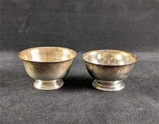 Silver Plated Small Bowls International Silver Co.