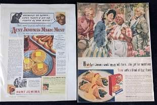 Vintage Aunt Jemima's Magic Menu Magazine Page
