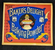 Vintage The Baker's Delight Store Sign