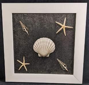 Beach Shell Themed Wall Art