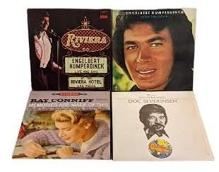 4 Vinyl LP Records Ray Conniff Engelbert Humperdinck