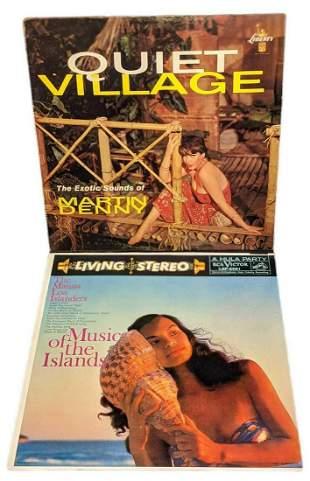 Vintage Tiki Quiet Village Mauna Loa Islanders Vinyl LP