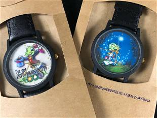 Earth Day 2000 Jiminy Cricket Watches Made From