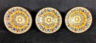 Hand Painted Decorative Puente Pottery Bowl