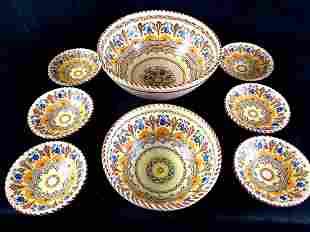 Set of Puente Pottery Bowls