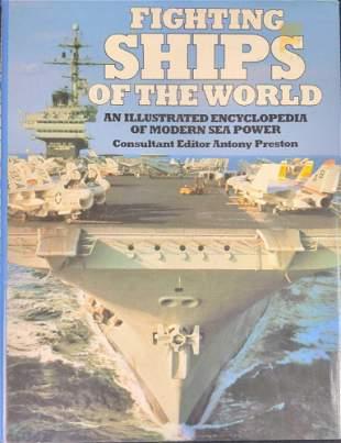 Fighting Ships Of The World By Antony Preston Hardcover