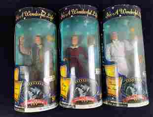 Its A Wonderful Life LE Figures Lot Of Three