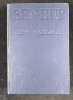 Vintage Ben Hur Lew Wallace Hardcover Book