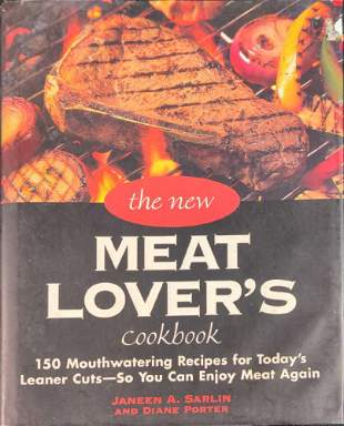 The New Meat Lovers Cookbook Hardcover