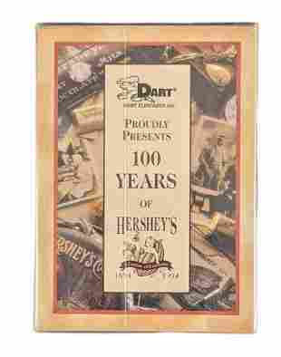 Unopened Hershey's Chocolate 100 Years Complete Card