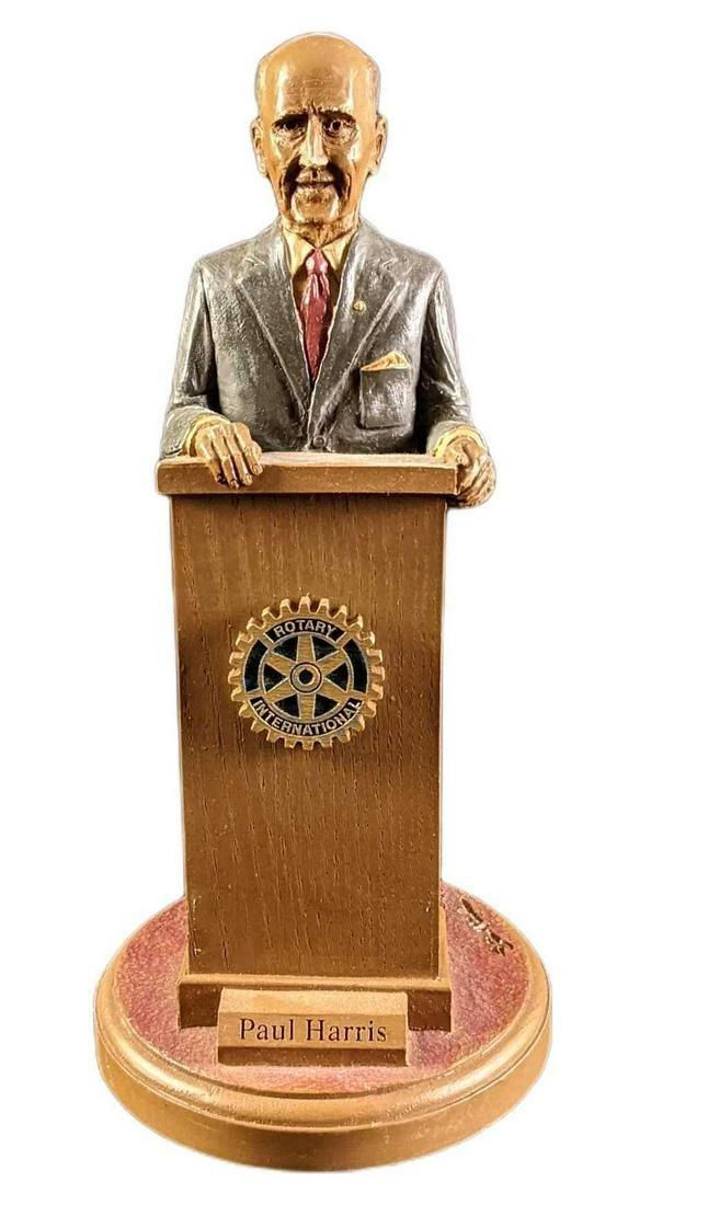 Rotary International Old Mill Paul Harris Figurine