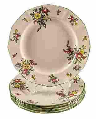 Five Old Leeds Spray By Royal Doulton Fine China Salad