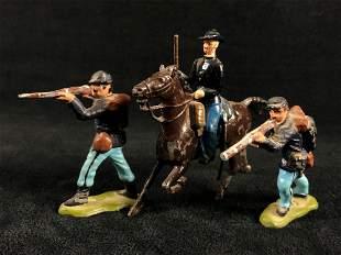 """Antique Britains LTD Lead Hand Painted Civil War 2"""""""