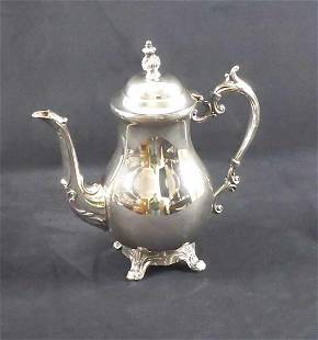 Vintage RB Rogers Silverplate Coffee Pot 2333