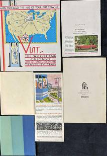 Six Vintage Worlds Fair Pamphlets New York Pabst