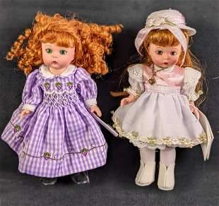 Madame Alexander Dolls Just Grape Sunday School Best