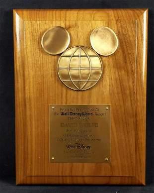 Walt Disney World Employee 10 Year Award