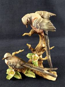 Hand Painted Ceramic Scissor Tailed Flycatcher