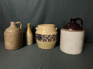 Vintage Stone-wear Jug - Vase - Bottle