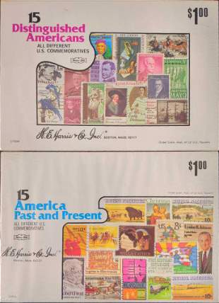 America Past And Present Distinguished Americans Stamps