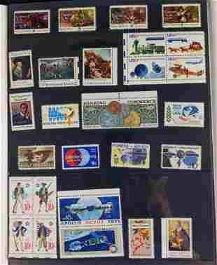 1975 Complete Commemorative Year Set US Stamps