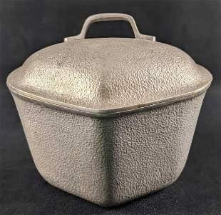 Vintage Silver Seal Aluminum Dutch Oven Pot A