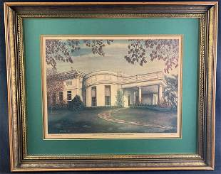 The President's Office at the White House by C.G.
