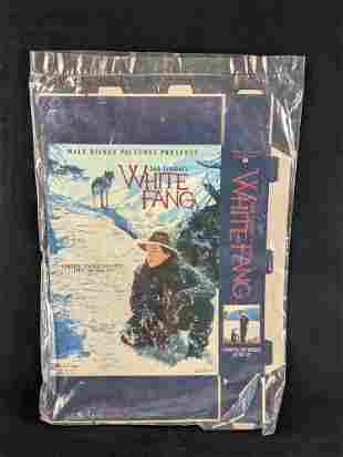 Video Store Box Display Disney White Fang Movie
