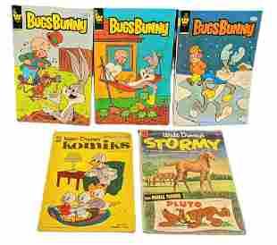 Vintage Disney And Warner Brothers Comic Books