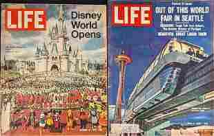 Vintage Disney Worlds Fair Life Magazines