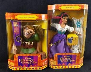 Disney Hunchback Of Notre Dame Esmeralda Quasimodo