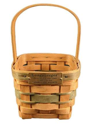 Longaberger Retired 1986 Christmas Candy Cane Basket