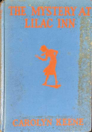 Vintage Nancy Drew The Mystery At Lilac Inn Hardcover