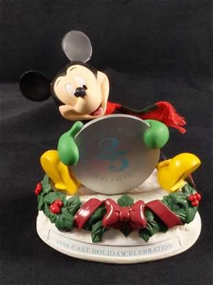 1996 Disney Cast Exclusive Mickey Christmas Figure