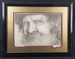 Rawhide And Rope Pencil Drawing Limited Edition Print