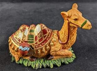 Hawthorne Village Thomas Kinkade Seated Camel