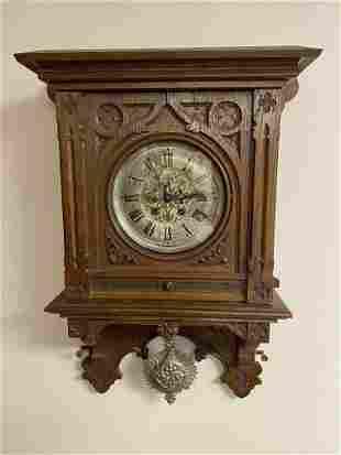 Antique German Lenzkirch Model # 26 Mechanical Pendulum