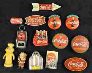 14 Vintage Lot Of Coca Cola Pop Culture Magnets