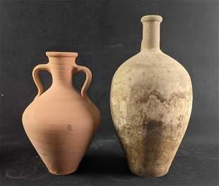 Clay Water Jugs Roman Style