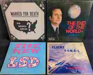 Vintage Relgious LP Vinyl Records Jerry Falwell Jack
