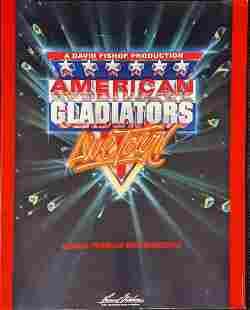 American Gladiators Live Tour Program Book 1992