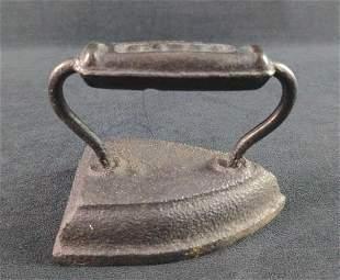 Vintage Cast Iron Sad Flat Iron