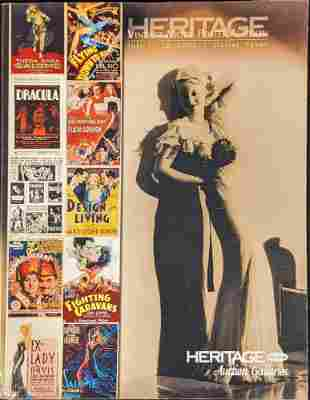 Heritage Vintage Movie Poster Auction Catalog 2008