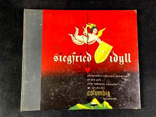 Wagner Siegfried Idyll 1940's Record