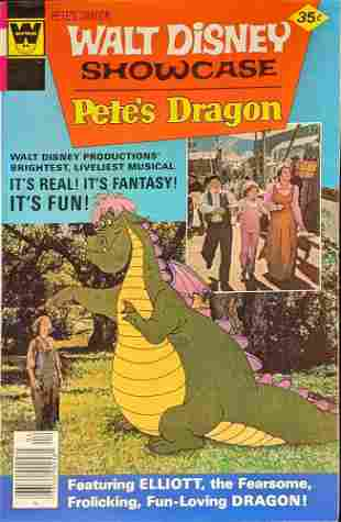 Vintage Walt Disney Showcase Petes Dragon Comic Book