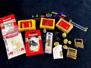 Modern U.S. Navy Military Lot Ribbons, EGA's, Ranks