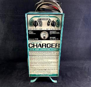 Vintage Silver Beauty No. 8250 50 Amp Solid State