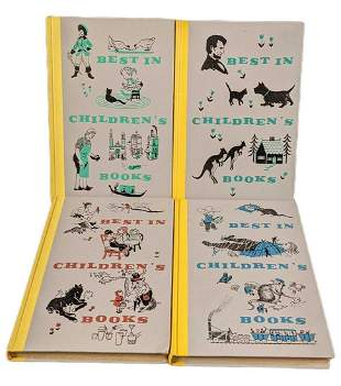 Vintage Best In Childrens Hardcover Books Lincoln