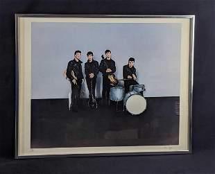 RARE Limited Edition Beatles Original Drummer Pete Best