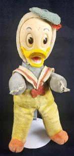 Walt Disney Productions Woolkin Original Stuffed Donald